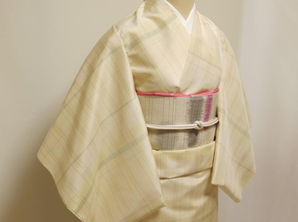 八寸帯 カジュアル 手織り