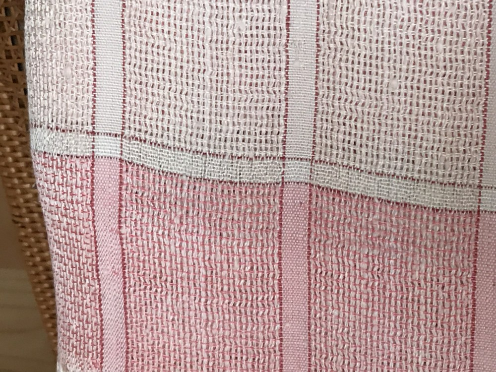 ショール 薄地 絹 手織り