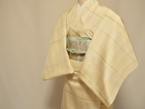 着尺 着物 袷 単衣 手織り
