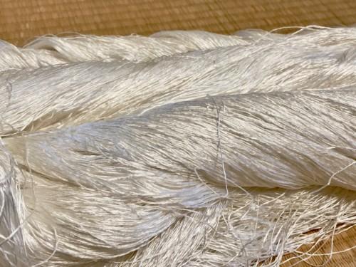 八寸帯 オーダー 絹糸 お誂え 手織り 紬