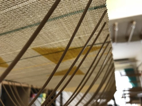 八寸帯 紬 普段着きもの カジュアル着物 手織り