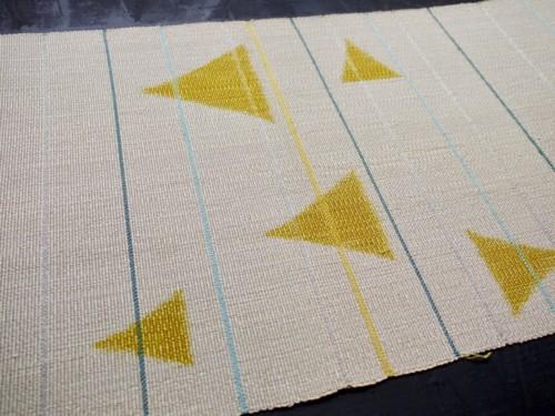 八寸帯 オーダー 注文 お誂え 紬 手織り